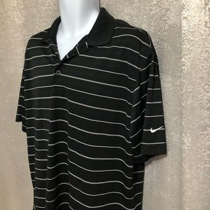Nike Golf Dri Fit button up shirt Sz. Large